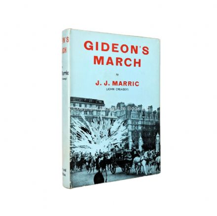Gideon's March by J.J. Marric aka John Creasey First Edition Hodder & Stoughton 1962